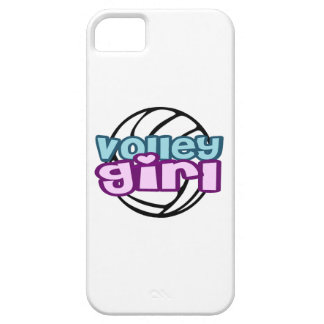 Volley Girl iPhone 5 Cover