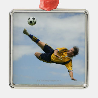 Volley kick 2 christmas ornament
