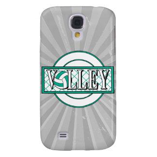 volley logo green galaxy s4 case