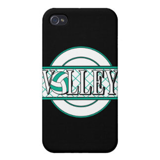volley logo green iPhone 4 case