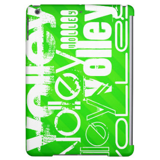 Volley; Neon Green Stripes