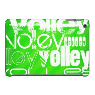 Volley; Neon Green Stripes iPad Mini Retina Cover