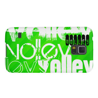 Volley; Neon Green Stripes Galaxy S5 Cover