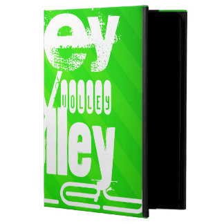 Volley; Neon Green Stripes iPad Air Cases