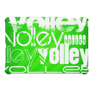 Volley; Neon Green Stripes Cover For The iPad Mini