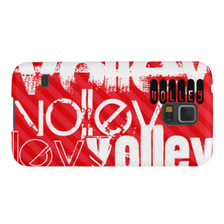Volley; Scarlet Red Stripes Cases For Galaxy S5