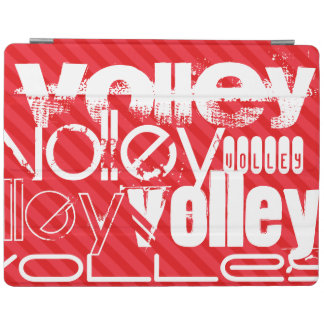 Volley; Scarlet Red Stripes iPad Cover