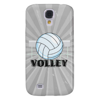 volley volleyball graphic and text galaxy s4 case