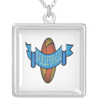 Volleyball 10 custom necklace