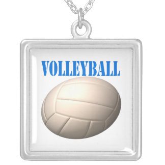 Volleyball 4 personalized necklace