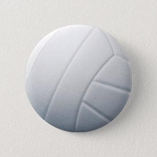 volleyball 6 cm round badge