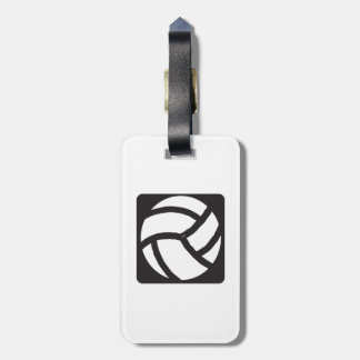 Volleyball 6 luggage tag