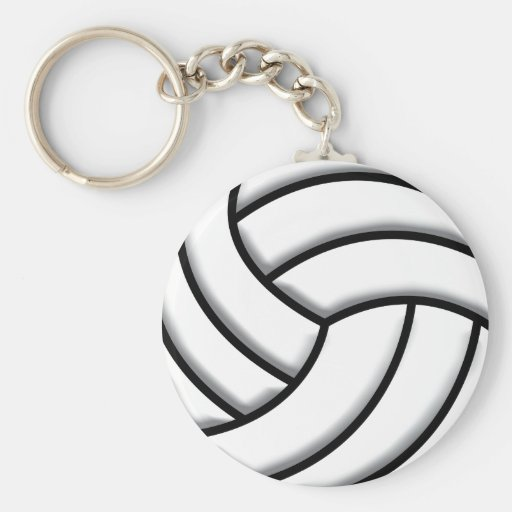 Volleyball Ball Key Chain