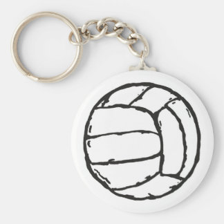 Volleyball Ball Key Ring