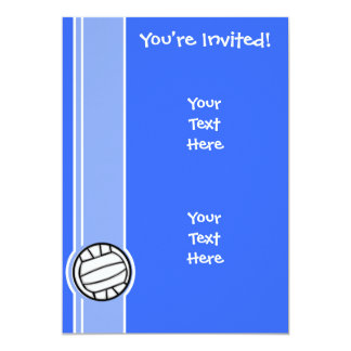 Volleyball; Blue Card