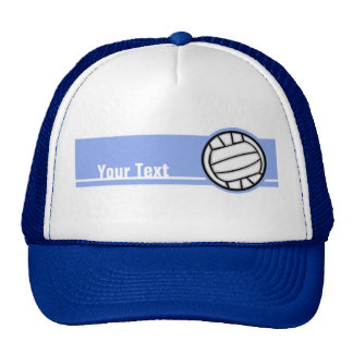 Volleyball Blue Mesh Hat