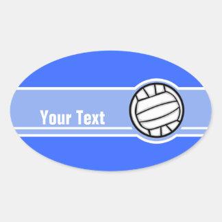 Volleyball; Blue Sticker