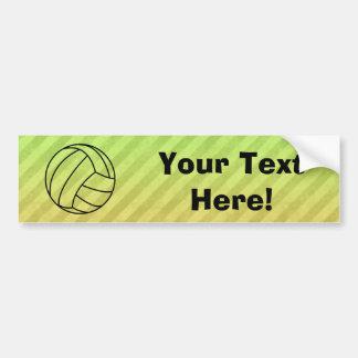 Volleyball; Bumper Sticker