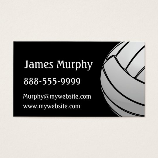 Volleyball Business Card