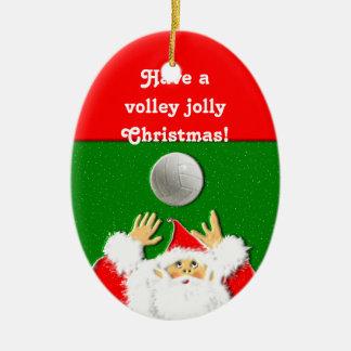 Volleyball Christmas Christmas Ornament