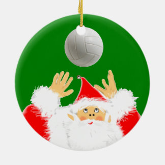 Volleyball Christmas Collectible Christmas Ornament