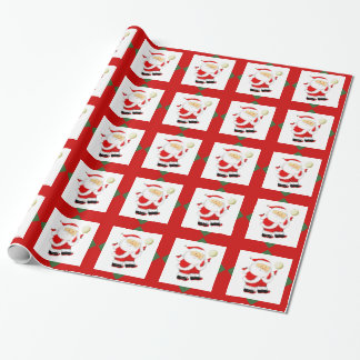 Volleyball Christmas Wrapping Paper