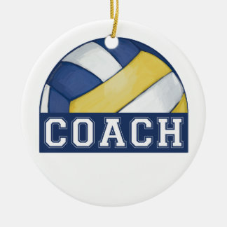 Volleyball Coach Christmas Ornament