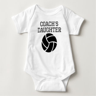 Volleyball Coach's Daughter Baby Bodysuit