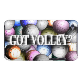 Volleyball Collage Barely There iPod Cases
