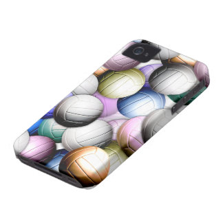 Volleyball Collage iPhone 4 Case-Mate Cases