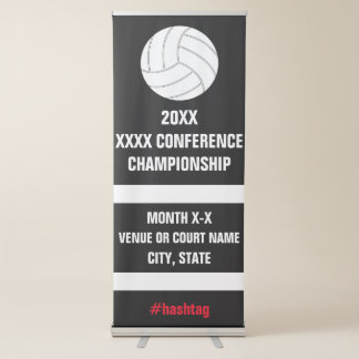 Volleyball Conference Championship Tournament Sign