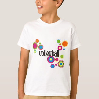 Volleyball Cool Polka Dots T-Shirt
