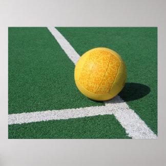 Volleyball Court Print