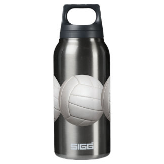 Volleyball custom insulated water bottle