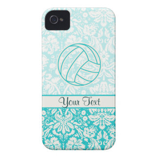 Volleyball; Cute Teal iPhone 4 Cover