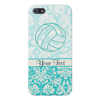 Volleyball; Cute Teal iPhone 5/5S Cover