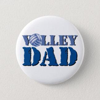 Volleyball Dad 6 Cm Round Badge