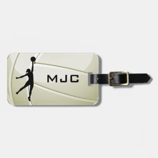 Volleyball Design Luggage Tags