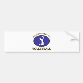 volleyball Designs Bumper Sticker