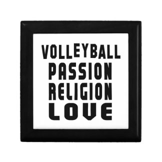Volleyball Designs Small Square Gift Box