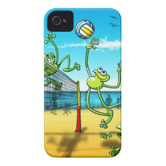 Volleyball Frog iPhone 4 Case-Mate Case