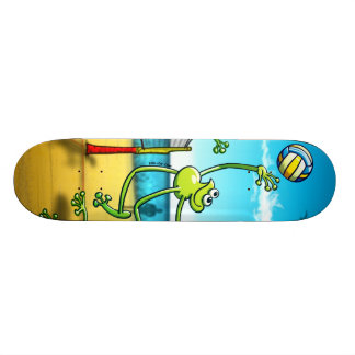 Volleyball Frog Skateboard Decks