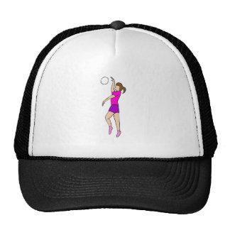 Volleyball Girl Mesh Hat