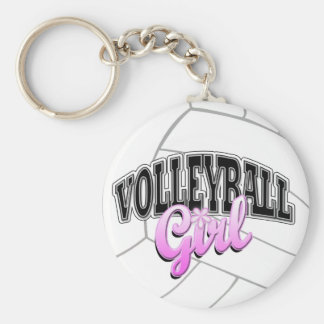 Volleyball Girl Keychain