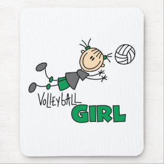 Volleyball Girl Mouse Mat