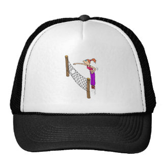 Volleyball Girl Spike Hats