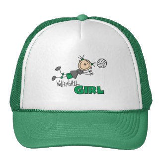 Volleyball Girl Tshirts and Gifts Mesh Hats