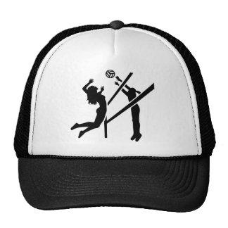Volleyball girls trucker hat