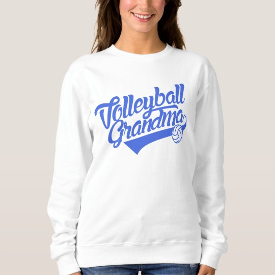 Volleyball Grandma Sweatshirt