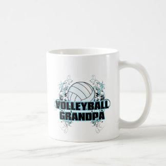 Volleyball Grandpa (cross).png Coffee Mug